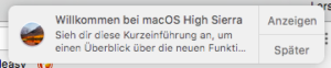 mac - Benachrichtigungen abschalten