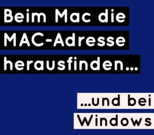 mac-adresse-finden