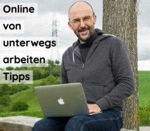 Online von unterwegs arbeiten - Tipps