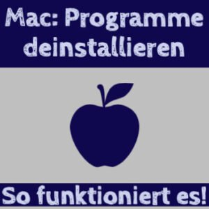 Apple Software deinstallieren