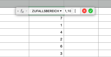 numbers-zufallsbereich