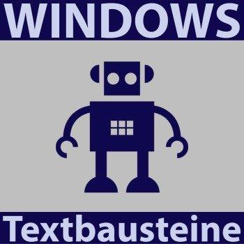 windows-textbaustein