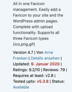 plugin-veraltet