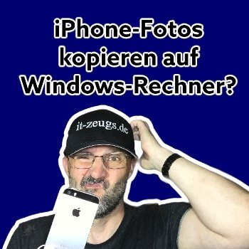 So kopierst du die Fotos von deinem iPhone auf den Windows Rechner